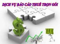 Dịch vụ báo cáo thuế hàng tháng uy tín tin cậy giá rẻ